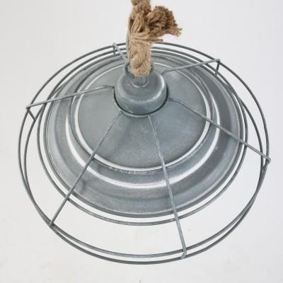 Steinhauer Mexlite Grijs Hanglamp 1-lichts 7776GR