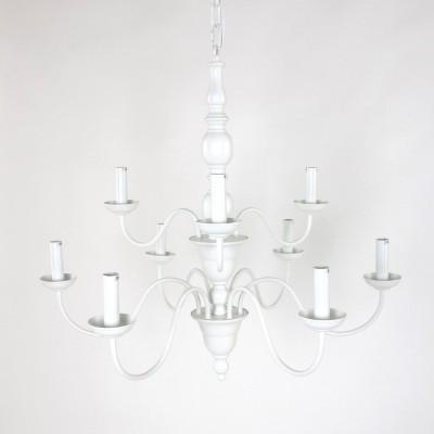 Steinhauer Mexlite Wit Hanglamp 9-lichts 7644W