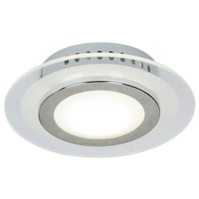 Steinhauer Ceiling and wall Chroom Plafondlamp 1-lichts 7163CH
