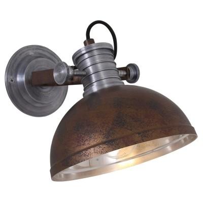 Steinhauer Brooklyn Bruin Wandlamp 1-lichts 7717B