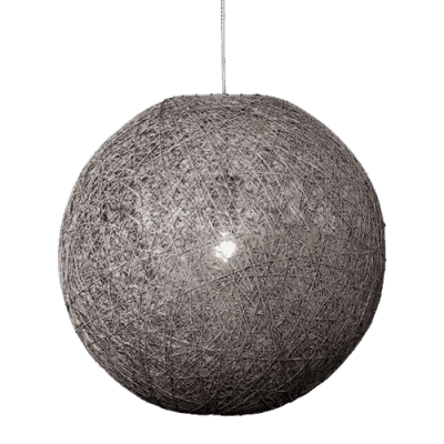 Hanglamp Abaca doorsnede in cm 45 beton 31545003