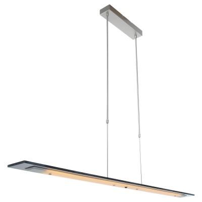 Hangl. 10-led 140cm grey glass 1726ST