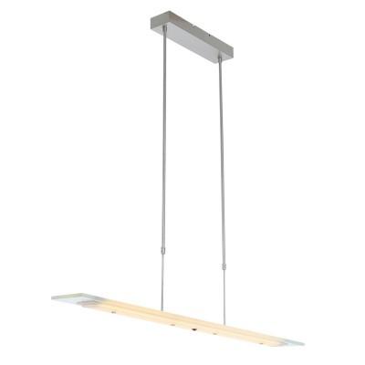 Hangl. 8-led 100cm clear glass 1727ST