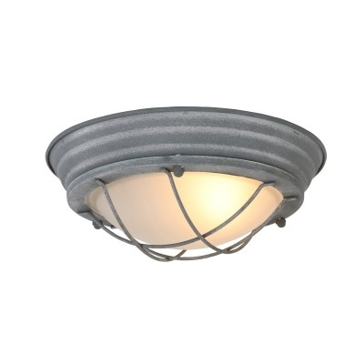 Steinhauer Mexlite Grijs Plafondlamp 1-lichts 1357GR