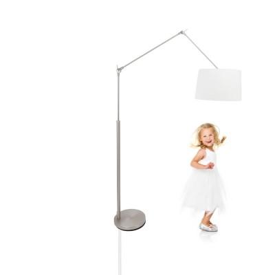 Steinhauer Gramineus Staal Vloerlamp 1-lichts 9719ST