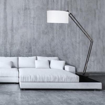 Steinhauer Mexlite Zwart Vloerlamp 1-lichts 7681ZW