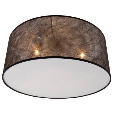 Steinhauer Gramineus Zwart Plafondlamp 1-lichts 9685W