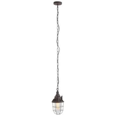 Steinhauer Mexlite Bruin Hanglamp 1-lichts 7890B