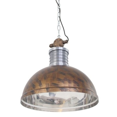 Steinhauer Brooklyn Bruin Hanglamp 1-lichts 7670B