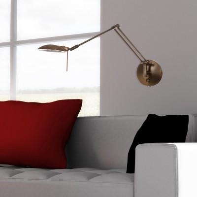 Steinhauer Tamara LED Brons Wandlamp 1-lichts 7557BR