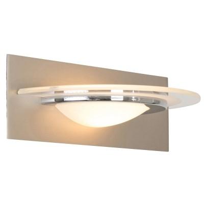 Steinhauer Zelena LED Staal Wandlamp 1-lichts 7399ST