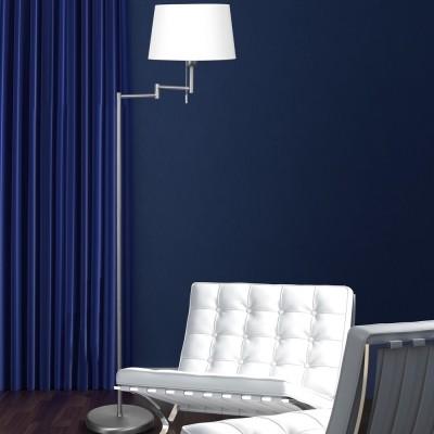 Steinhauer Mexlite Staal Vloerlamp 1-lichts 5894ST