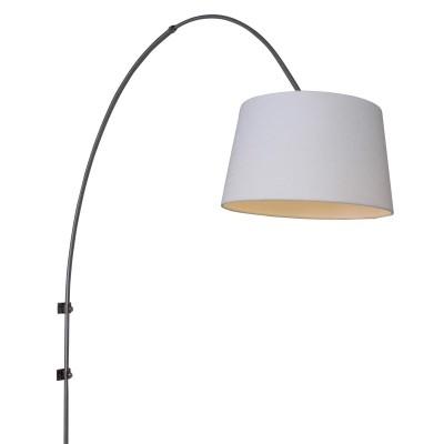 Steinhauer Gramineus Staal Wandlamp Booglamp met Kap 1-lichts 9943ST