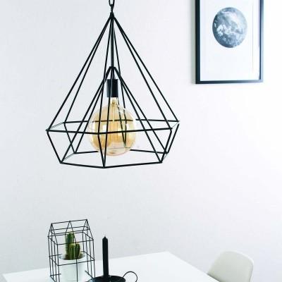 Steinhauer Mexlite Zwart Hanglamp 1-lichts 7598ZW