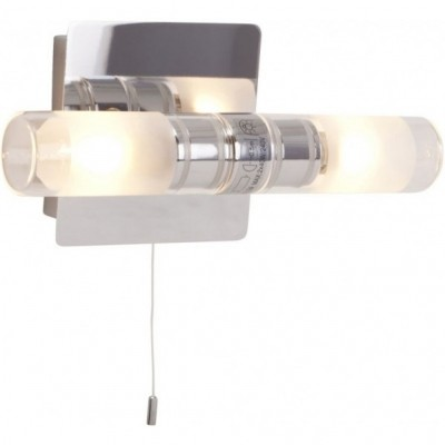 Steinhauer Ceiling and Wall Chroom Wandlamp 2-lichts 7303CH