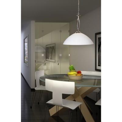 Steinhauer Capri Staal Hanglamp 1-lichts 6839ST