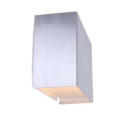 Steinhauer Liberstas LED Staal Wandlamp 1-lichts 1461ST