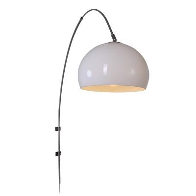 Steinhauer Gramineus Staal Wandlamp Booglamp met Kap 1-lichts 9937ST