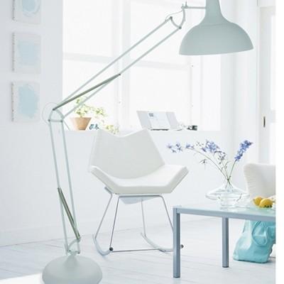 Steinhauer Mexlite Wit Vloerlamp 1-lichts 7632W