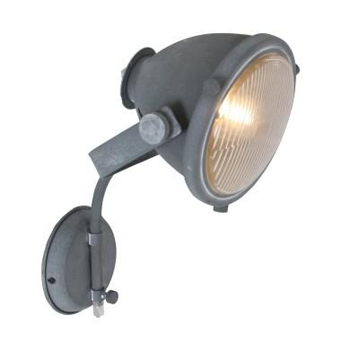 Steinhauer Mexlite Grijs Wandlamp 1-lichts 1334GR