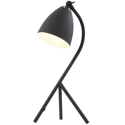 Steinhauer Mexlite Zwart Tafellamp 1-lichts 7676ZW