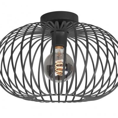 Plafondlamp Balloon 40cm zwart