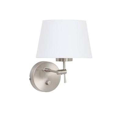 Steinhauer Gramineus Staal Wandlamp 1-lichts 9596ST