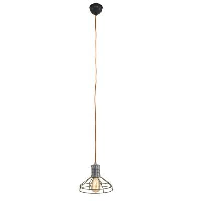 Steinhauer Wire-O Groen Hanglamp 1-lichts 7694G