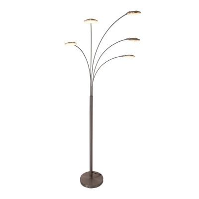 Steinhauer Mexlite Staal Vloerlamp 5-lichts 1327ST
