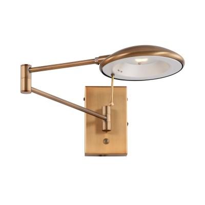 Steinhauer Diamond LED Brons Wandlamp 1-lichts 7959BR