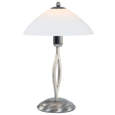 Steinhauer Capri Staal Tafellamp 1-lichts 6842ST