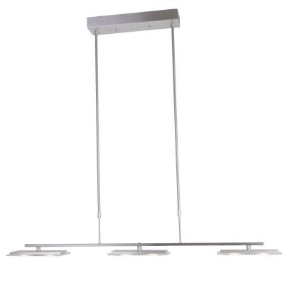 Steinhauer Pallade LED Staal Hanglamp 6-lichts 7409ST