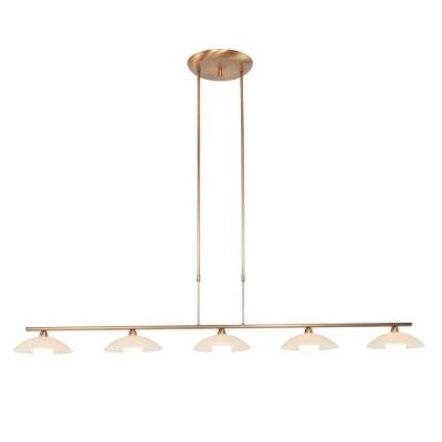 Steinhauer Aleppo Brons Hanglamp 5-lichts 5508BR