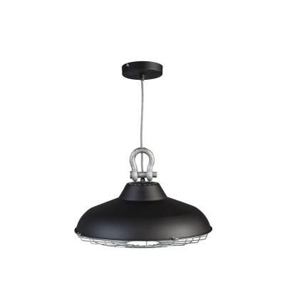 Hanglamp Industry 05-HL4366-30 mat zwart
