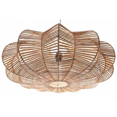 Rotan hanglamp Hauwert 80cm naturel 510098