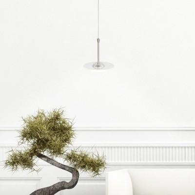 Steinhauer Santander LED Staal Hanglamp 1-lichts 7405ST