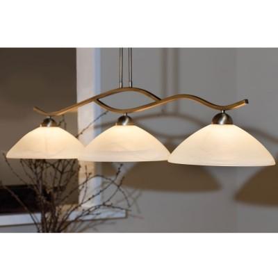 Steinhauer Capri Brons Hanglamp 3-lichts 6837BR