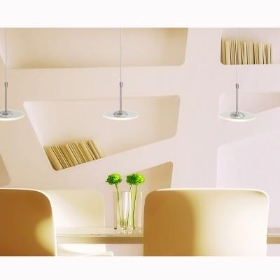 Steinhauer Santander LED Staal Hanglamp 3-lichts 7406ST
