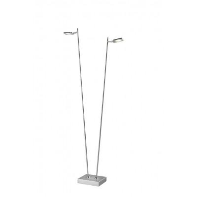 Freelight Block Staal Vloerlamp 2-lichts S2322S