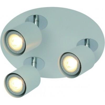 Freelight Scoop Wit Spot,Plafondlamp 13cm PL7403W
