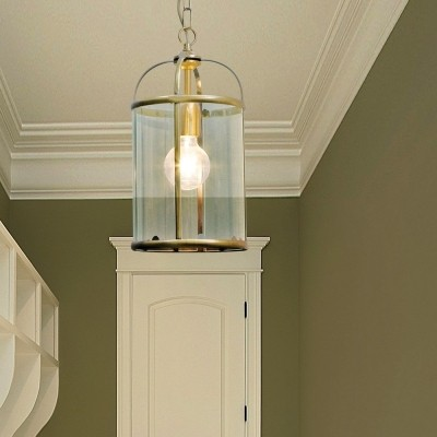 Steinhauer Pimpernel Brons Hanglamp 1-lichts 5970BR