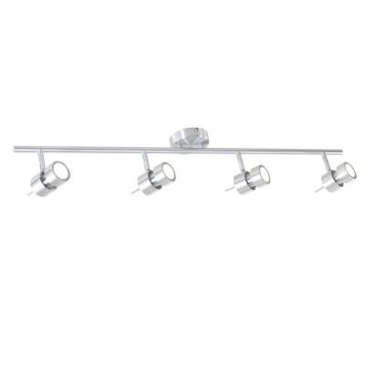 Steinhauer Natasja LED Staal Plafondlamp 4-lichts 7904ST