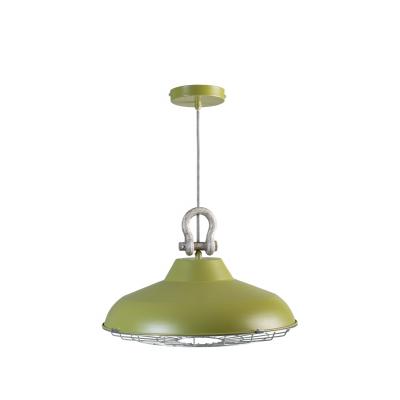 Hanglamp Industry 05-HL4366-3345cm mat groen