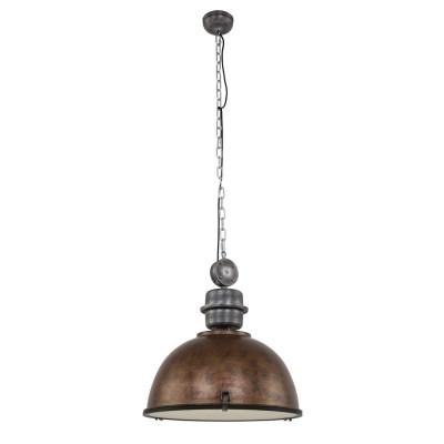 Steinhauer Bikkel XXL Bruin Hanglamp 1-lichts 7834B
