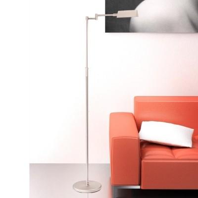 Steinhauer Mexlite Staal Vloerlamp 1-lichts 5895ST