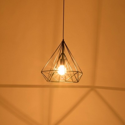 Steinhauer Mexlite Zwart Hanglamp 1-lichts 7597ZW
