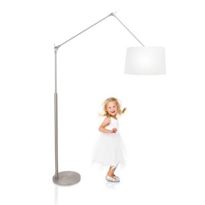 Steinhauer Gramineus Staal Vloerlamp 1-lichts 9718ST