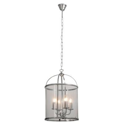 Steinhauer Pimpernel Staal Hanglamp 4-lichts 5972ST