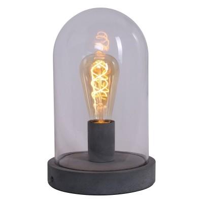 Steinhauer Mexlite Grijs Tafellamp 1-lichts 1483GR