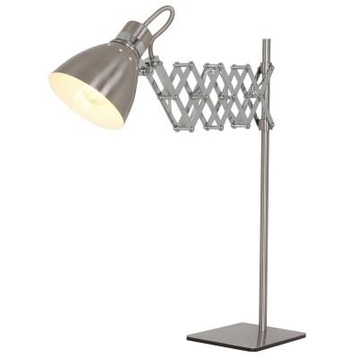 Steinhauer Spring Staal Tafellamp 1-lichts 7960ST